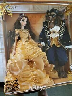 Disney Beauty and the Beast Platinum doll set limited edition