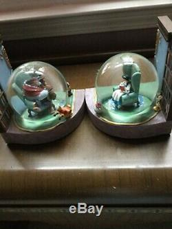 Disney Beauty and the Beast Snow Globe bookends