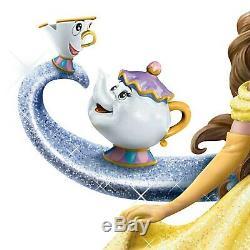 Disney Beauty & the Beast Belle A Tale of Enchantment Bradford Exchange NEW