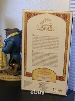 Disney Beauty & the Beast Limited Edition LE 17inch Winter Belle Doll