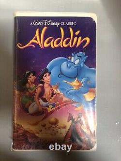 Disney Black Diamond Vhs Tapes! Beauty And The Beast+ More Lmtd Edition