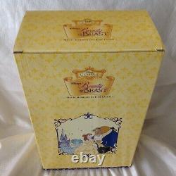 Disney Classics Beauty & The Beast MAGIC MOMENTS Diorama Figurine Clock-MIB