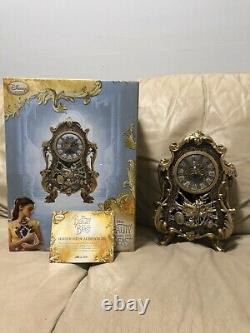Disney Cogsworth Limited Edition Clock Live Action Beauty And The Beast