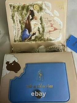 Disney Danielle Nicole Beauty and the Beast Purse Bag Loungefly Lace Card Holder