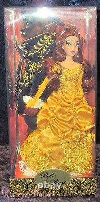 Disney Designer Fairytale Collection Doll Belle And Beast Limited Edition