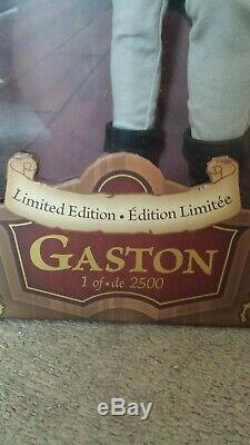 Disney Designer Limited Edition Collection Gaston Doll From Beauty And The Beast