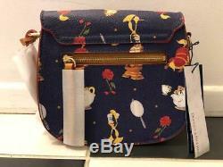 Disney Dooney & Bourke Beauty And The Beast Crossbody Bag NWT