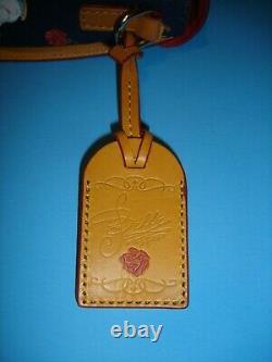 Disney Dooney & Bourke Beauty And The Beast Crossbody Handbag Nwt Purse