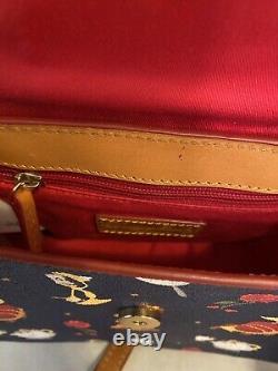 Disney Dooney & Bourke Beauty And The Beast Saddle Bag Crossbody