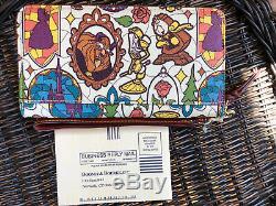 Disney Dooney & Bourke Beauty And The Beast Wallet