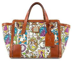 Disney Dooney & Bourke Beauty and the Beast Belle Small Shopper Tote Bag SEALED