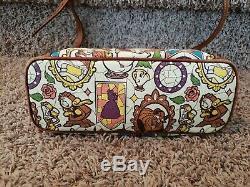 Disney Dooney & Bourke Beauty and the Beast Belle crossbody tote purse