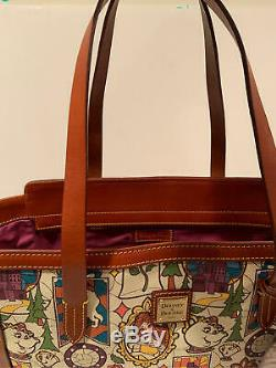Disney Dooney & Bourke Beauty and the Beast LARGE Tote NWT Belle