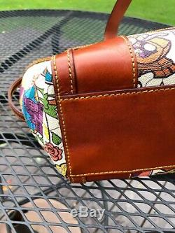 Disney Dooney & Bourke Beauty and the Beast Purse Small Shopper Tote