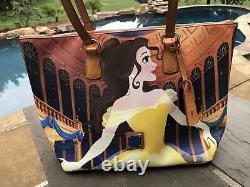 Disney Dooney & Bourke Belle Beauty & The Beast Dream Big Princess Tote