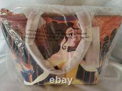 Disney Dooney & Bourke Belle Beauty & The Beast Dream Big Princess Tote NWT