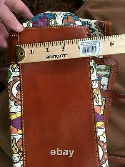 Disney Dooney and Bourke Large Beauty and the Beast Shopper Tote