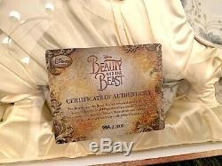 Disney Exclusive Beauty and the Beast Live Action Fine China Tea Limited 2000
