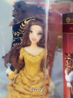 Disney Fairytale Designer Belle And Beast Dolls