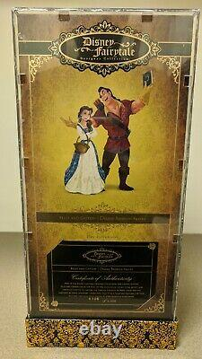 Disney Fairytale Designer Town Belle & Gaston Doll Beauty Beast Limited Edition