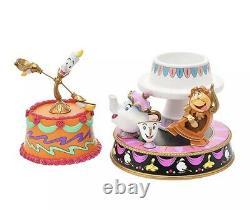Disney Japon La Belle Et La Bête Beauty Beast Lumiere Big Ben Samova Zip Neuf