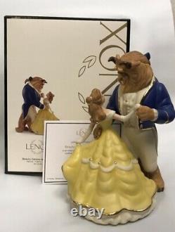 Disney Lenox Beauty and the Beast Belle Dances with Beast Figurine 883082