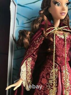 Disney Limited Edition 17 Belle Doll Winter Beauty & the Beast NIB