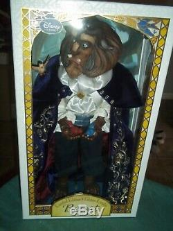 Disney Limited Edition Doll BEAST Beauty and the Beast 17 #1498
