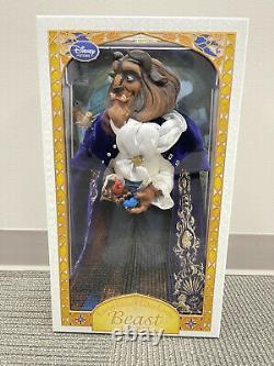 Disney Limited Edition Doll BEAST Beauty and the Beast 17 BNIB