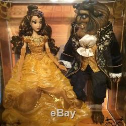 Disney Limited Edition Doll Platinum Set Animated Beauty And The Beast Batb Nib