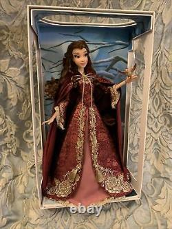 Disney Limited Edition LE 17 Doll Belle Beauty Beast Winter Princess Heirloom