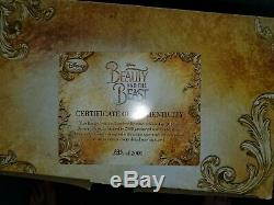 Disney Limited Edition Lumiere Beauty and the Beast Live Action Film candelabra