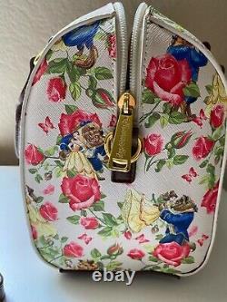Disney Loungefly Belle Beauty And The Beast Rose Purse
