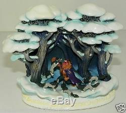 Disney Olszewski Figurine Beauty & Beast Beastly Fight Story Time NIB