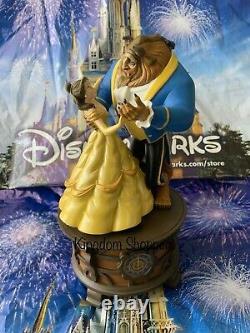 Disney Parks Beauty & Beast Musical TALE AS OLD AS TIME Ballroom Music Box NIB