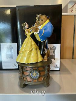 Disney Parks Beauty & Beast Musical TALE AS OLD AS TIME Ballroom Music Box New