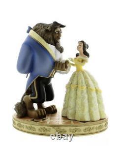 Disney Parks Beauty and the Beast Medium Big Fig Figure Statue Belle & Beast New