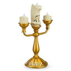 Disney Parks Exclusive Beauty & the Beast Lumiere Light Up Figurine New in Box