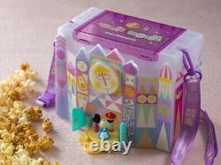 Disney Parks Popcorn Bucket It's a Small World & Beauty and The Beast TDR LTD