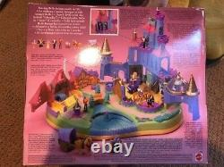 Disney Polly Pocket Beauty and The Beast Castle Bluebird Complete 1997 Unopen