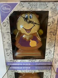 Disney Primark Beauty And The Beast Collection Cogsworth Lumiere Rose New