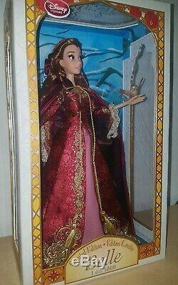 Disney Princess Winter Belle Beauty & the Beast 17 Limited Edition Doll LE 5000