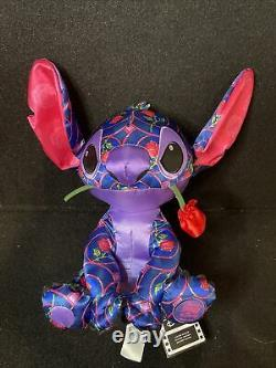 Disney Stitch Crashes Beauty And The Beast Plush New In Hand 1/12