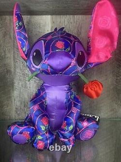 Disney Stitch Crashes Beauty And The Beast Stitch Plush January NWT
