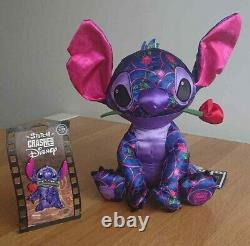 Disney Stitch Crashes Beauty and the Beast Plush and Pin Limited Release 1 of 12