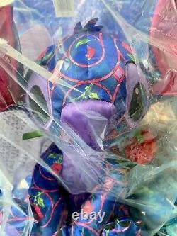 Disney Stitch Crashes Bundle Beauty & the Beast & The Little Mermaid Plushes