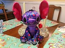 Disney Stitch crashes beauty and the beast First in the series Plush New Withtags