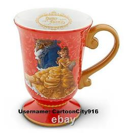 Disney Store Beauty And The Beast Belle And Beast Fairytale Mug SOLD OUT