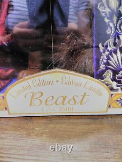 Disney Store Beauty And The Beast Limited Edition Beast Doll 17