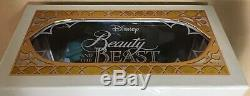 Disney Store Beauty & The Beast Beast Limited Edition Doll 1 of 3500
